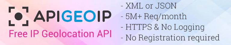 Free Geo IP API